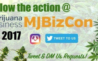 Follow News, Technology & Business Coverage from 2017 MJBizCon in Las Vegas!