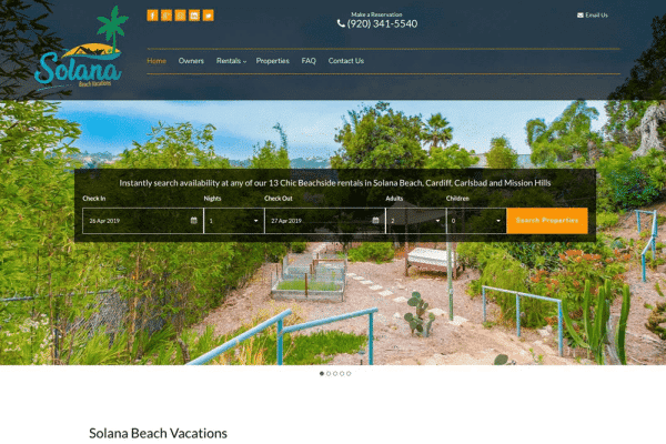 Solana Beach Vacations